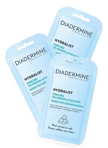 Diadermine Diadermine Cilt Maskesi Hydralist Cooling 3 Adet Renksiz